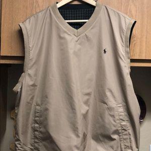 Ralph Lauren Reversible Windbreaker Vest